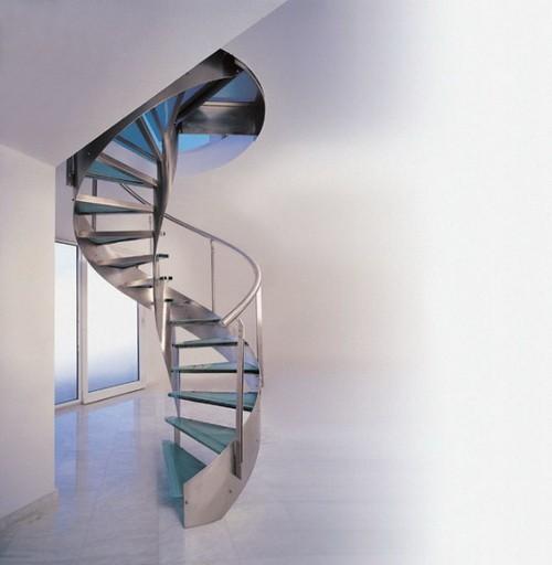 лестницы нержавейки винтовые фото из
